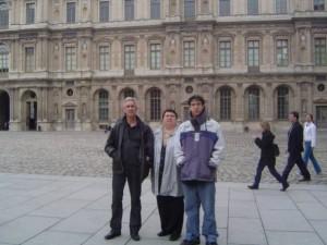 Venus pour le WE de Pâques. Là c'était au Louvre.