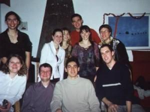 Voici tout mes amis de la fac de Poitiers