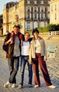 Avec Clara et Adèle