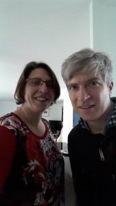 Matthew Caws & me